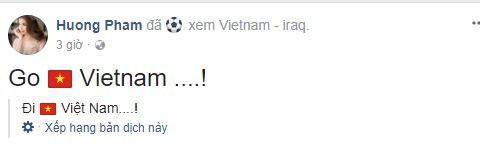 Sao Việt vỡ òa cùng chiến thắng của U23 Việt Nam - Ảnh 3.