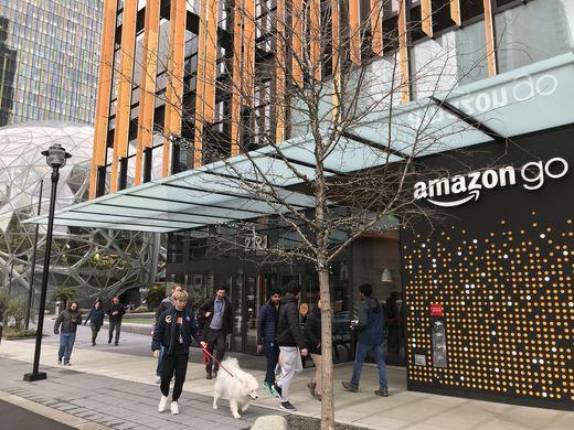 """""""Phát sốt"""" với cửa hàng không quầy tính tiền của Amazon - Ảnh 1."""