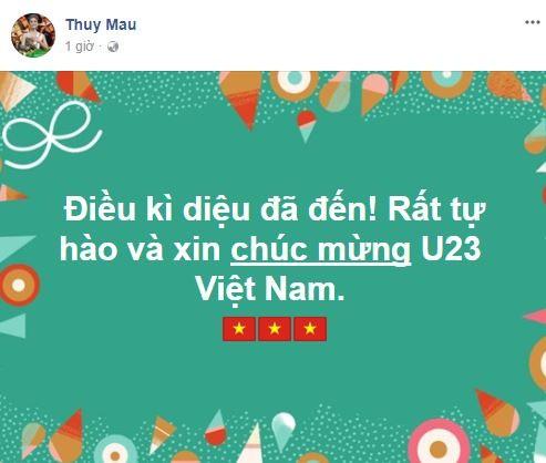 Sao Việt vỡ òa cùng chiến thắng của U23 Việt Nam - Ảnh 23.