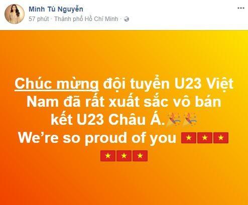 Sao Việt vỡ òa cùng chiến thắng của U23 Việt Nam - Ảnh 24.
