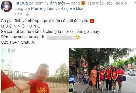 Sao Việt vỡ òa cùng chiến thắng của U23 Việt Nam - Ảnh 25.
