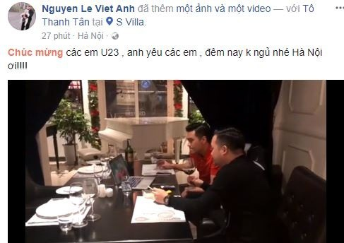 Sao Việt vỡ òa cùng chiến thắng của U23 Việt Nam - Ảnh 26.