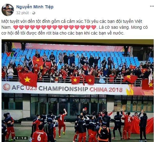 Sao Việt vỡ òa cùng chiến thắng của U23 Việt Nam - Ảnh 32.
