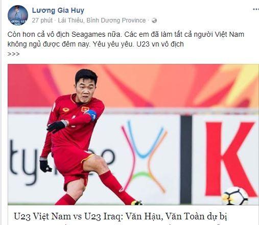 Sao Việt vỡ òa cùng chiến thắng của U23 Việt Nam - Ảnh 33.