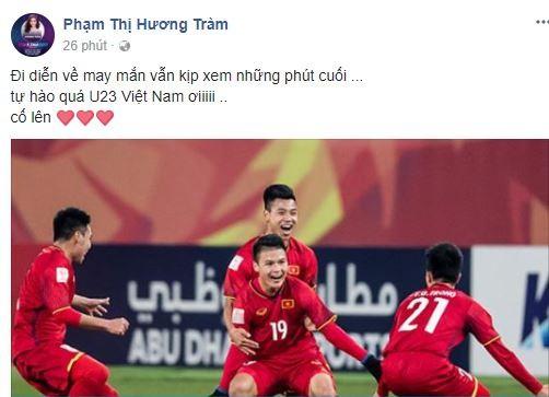 Sao Việt vỡ òa cùng chiến thắng của U23 Việt Nam - Ảnh 34.