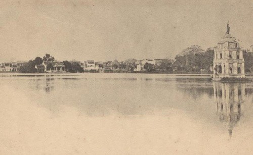 Thú vị diện mạo Hồ Gươm hơn 1 thế kỷ trước - Ảnh 5.