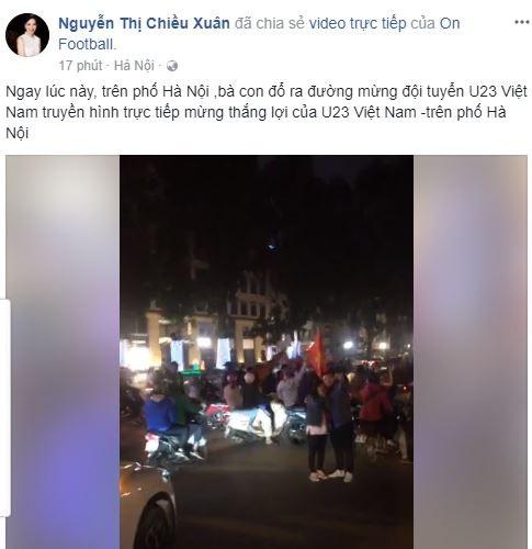 Sao Việt vỡ òa cùng chiến thắng của U23 Việt Nam - Ảnh 10.