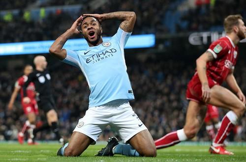 Thắng nghẹt thở Bristol City, Man City mơ chung kết League Cup - Ảnh 1.