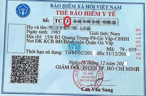 Giải mã ký tự trên thẻ BHYT - Ảnh 1.