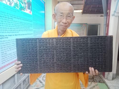 Bí ẩn những bảo vật, di sản quốc gia: Bộ kinh cổ nhất Việt Nam - Ảnh 1.
