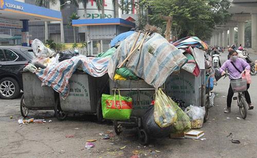 TP Hà Nội thoát nỗi khổ rác - Ảnh 1.