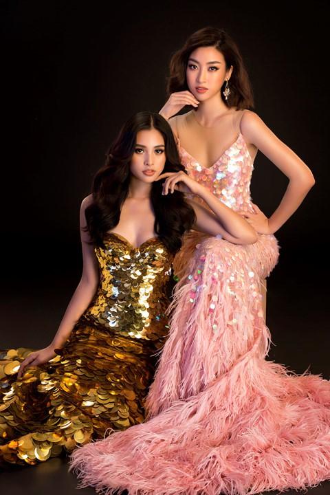 Hoa hậu Tiểu Vy diện váy hở, đọ dáng cùng Đỗ Mỹ Linh - Ảnh 5.