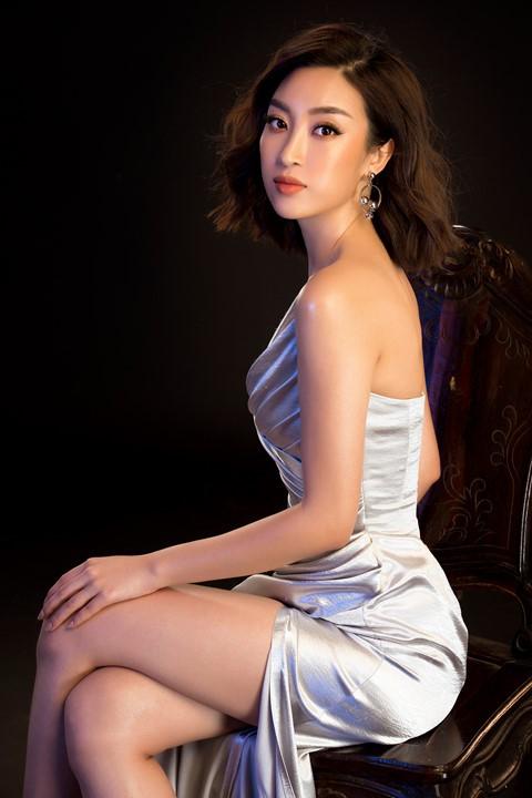 Hoa hậu Tiểu Vy diện váy hở, đọ dáng cùng Đỗ Mỹ Linh - Ảnh 6.