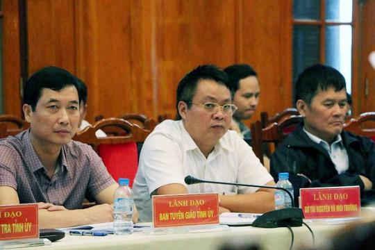 Ông Phạm Sỹ Quý chuyển công tác từ Yên Bái về Hà Nội - Ảnh 1.