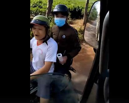 Kết quả xác minh về người lạ mặt gây hấn khi nhà xe quay clip CSGT - Ảnh 1.