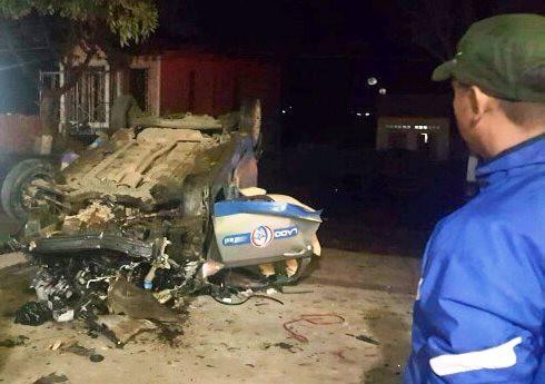 Tài xế uống rượu bia, lái taxi điên gây tai nạn ở Lâm Đồng, 3 người chết - Ảnh 2.