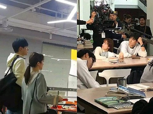 Đoàn phim của Hồ Nhất Thiên bị chỉ trích vì ngăn học sinh vào nhà vệ sinh - Ảnh 1.