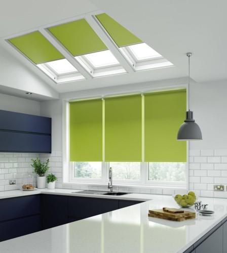 Không gian nhà bếp độc đáo với màu xanh lá cây - Ảnh 13.