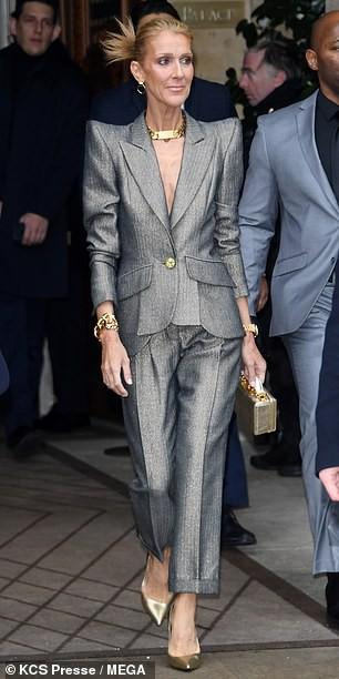 Sốc với thân hình gầy nhom của họa mi Celine Dion - Ảnh 1.