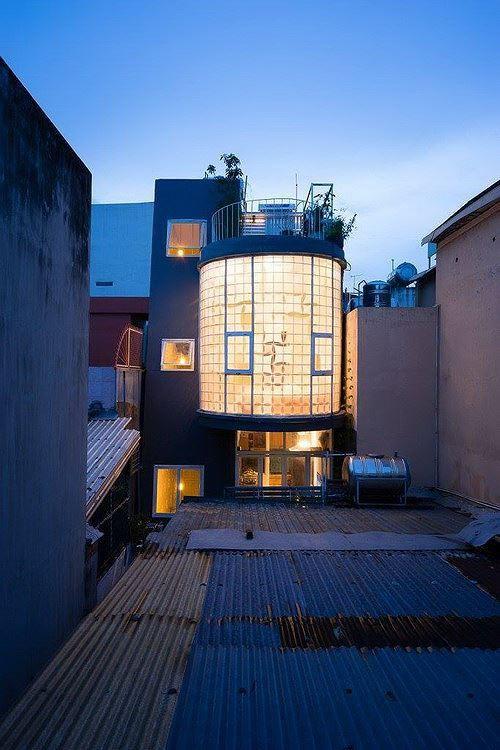 Nhà trong ngõ chỉ 35m2 vẫn thiết kế đẹp như mơ - Ảnh 1.