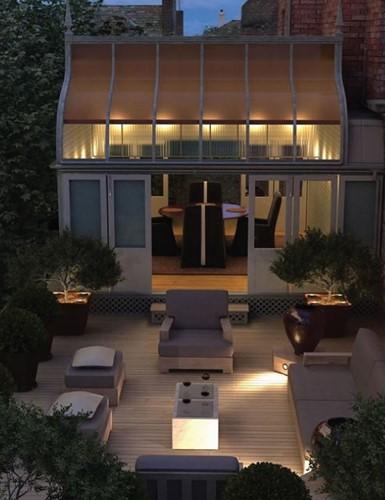 Những thiết kế vườn trên sân thượng đẹp mát mắt - Ảnh 7.