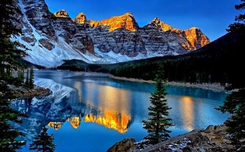 Vẻ đẹp siêu thực của hồ Moraine - Ảnh 6.