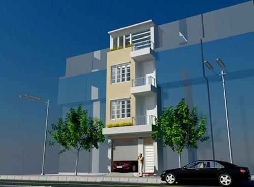 10 mẫu nhà phố hướng Tây đẹp quên sầu - Ảnh 6.
