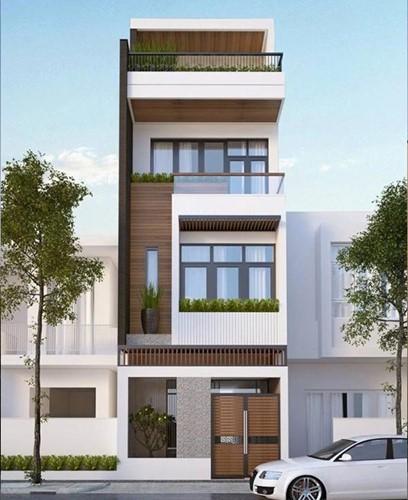 10 mẫu nhà phố hướng Tây đẹp quên sầu - Ảnh 7.