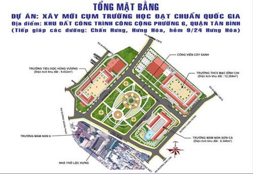 Dự án xây trường học công lập ở khu vườn rau Tân Bình: Cần hợp tác, tuân thủ luật - Ảnh 1.