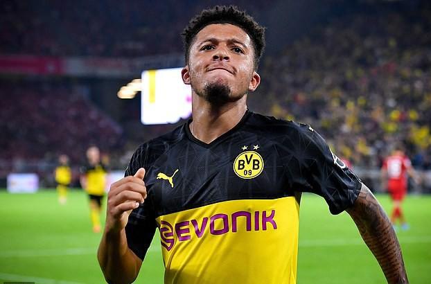 Dortmund sợ mất thần đồng Sancho vào tay Man United - Ảnh 3.