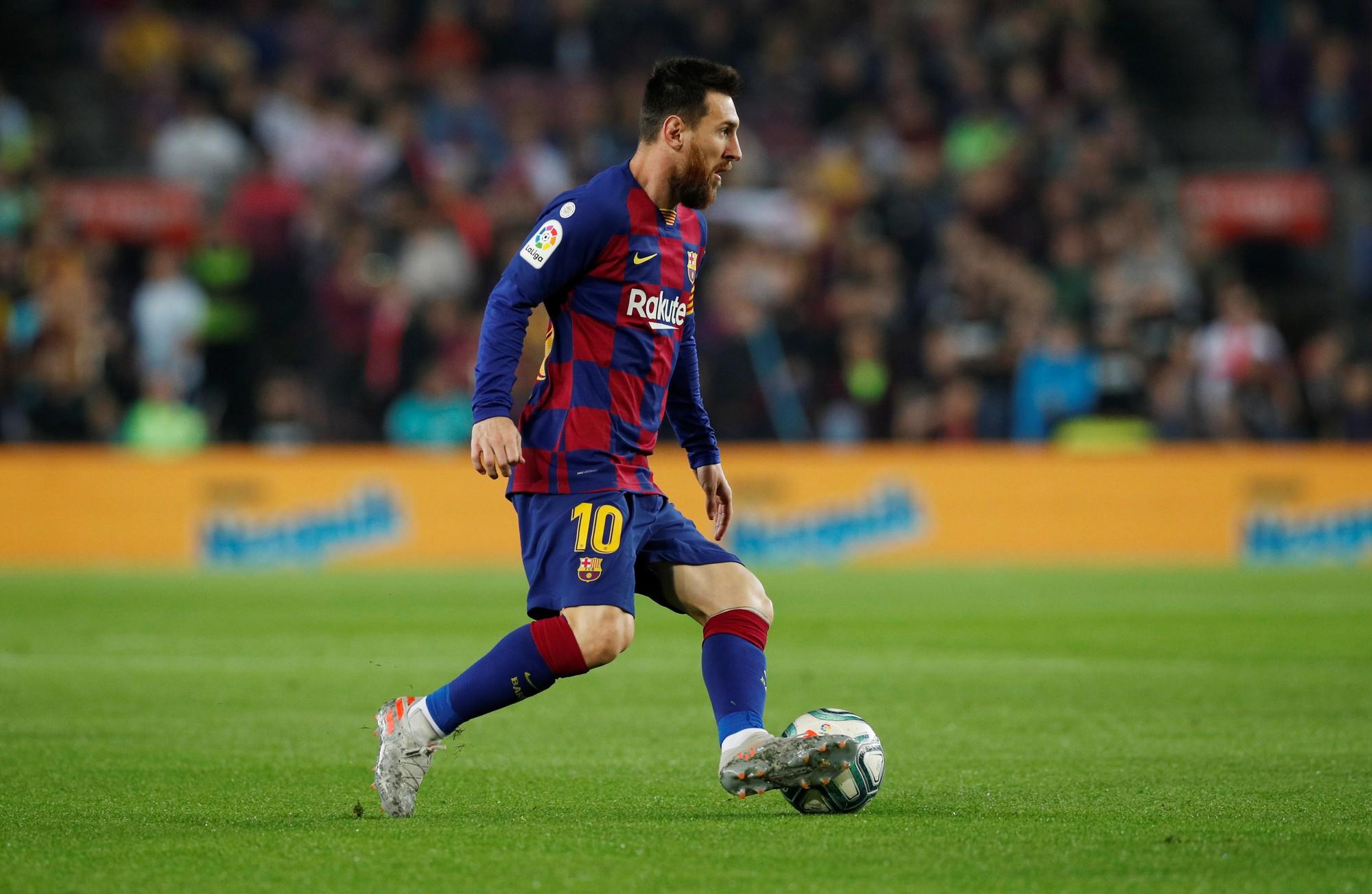 Ghi 608 bàn, Messi vượt mặt Ronaldo - Báo Người lao động
