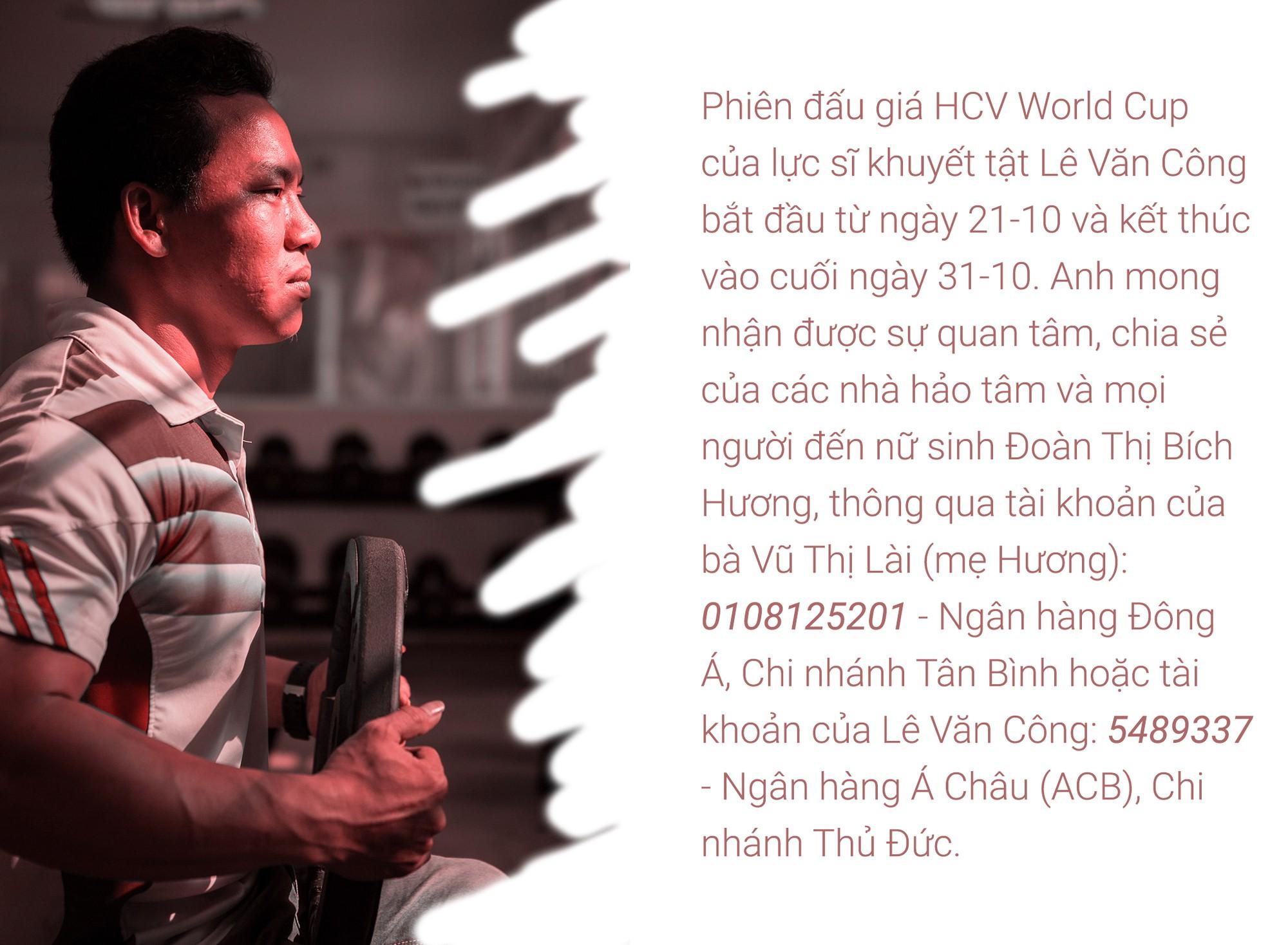 [eMagazine] - Lực sĩ khuyết tật đấu giá huy chương World Cup, giúp nữ sinh chữa bệnh hiểm nghèo - Ảnh 8.