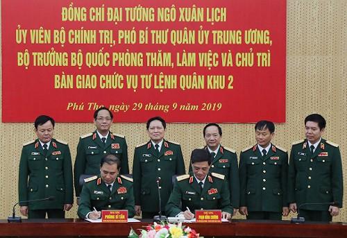 Điều động, bổ nhiệm 5 tướng lĩnh quân đội trong các vị trí Tư lệnh Quân khu - Ảnh 3.