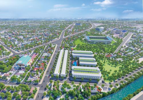 Tiềm năng tăng giá nhà phố biệt thự mặt tiền trung tâm Trảng Bàng nhờ hưởng lợi hạ tầng - Ảnh 1.