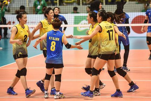 Đội tuyển bóng chuyền nữ: Vẫn rối hàng công - Ảnh 1.