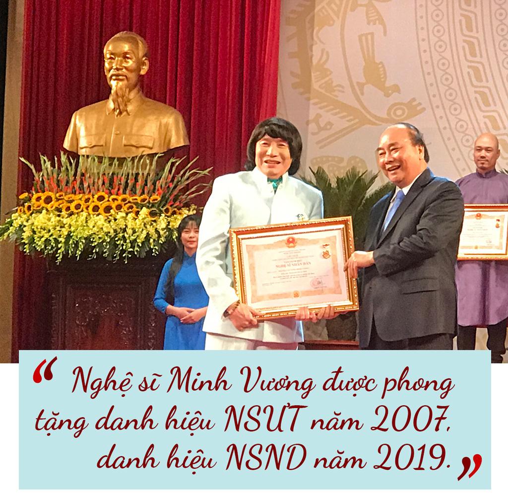 [eMagazine] NSND Minh Vương: Giải Mai Vàng cho tôi nhiều cảm xúc - Ảnh 5.