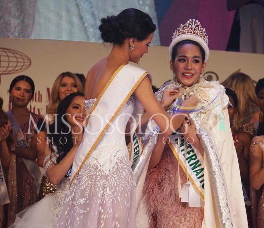 Nhan sắc rạng ngời của tân Hoa hậu Quốc tế - Ảnh 1.