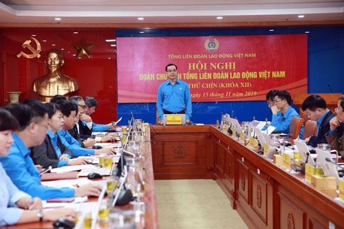 Đổi mới hoạt động Công đoàn Việt Nam trong tình hình mới - Ảnh 1.