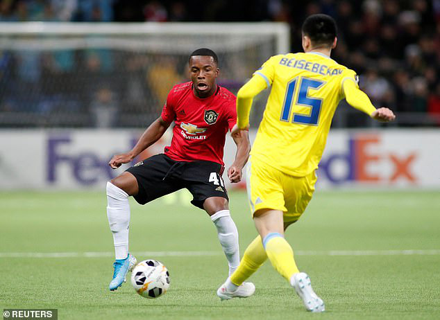 Lingard trở lại, Man United đại bại ở Europa League - Ảnh 1.