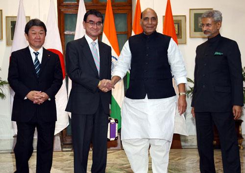 Nhật - Ấn tăng cường hợp tác đối phó Trung Quốc - Ảnh 1.