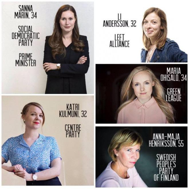 Nữ quyền hừng hực ở Phần Lan, 5 nữ tướng dẫn đầu 5 đảng liên minh - Ảnh 2.