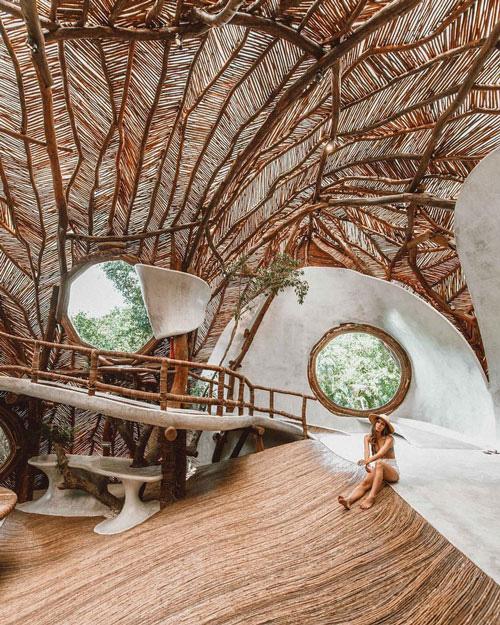 Những ngôi nhà trên cây tuyệt đẹp ai cũng muốn sống thử - Ảnh 1.