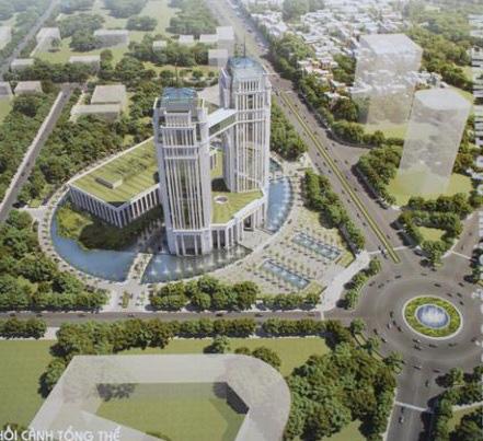 """Cận cảnh khu """"đất vàng"""" xây dựng trụ sở ngàn tỉ bỏ hoang của tỉnh nghèo Nghệ An - Ảnh 12."""