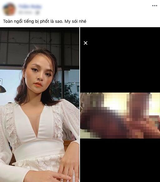 Nữ diễn viên trong Quỳnh Búp bê và Về nhà đi con phản ứng khi bị đồn có clip nóng - Ảnh 1.