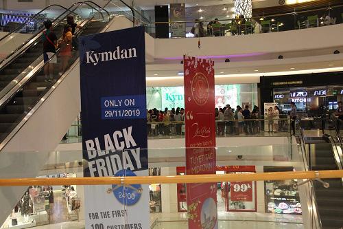 Sức hút của Kymdan trong ngày Black Friday ở Crescent Mall Phú Mỹ Hưng - Ảnh 1.