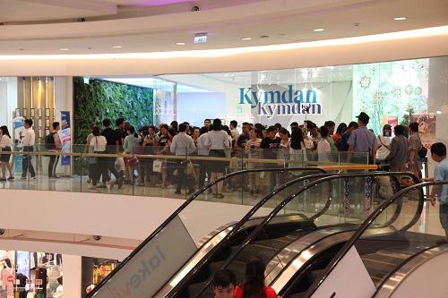 Sức hút của Kymdan trong ngày Black Friday ở Crescent Mall Phú Mỹ Hưng - Ảnh 2.