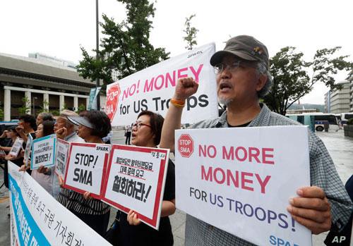 Hàn - Nhật mệt mỏi với gánh nặng lính Mỹ? - Ảnh 1.