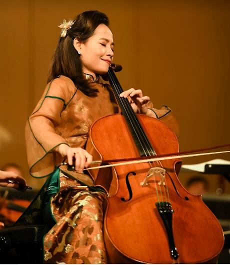 Đinh Hoài Xuân thăng hoa trong Cello Fundamento Concert 4 - Ảnh 1.