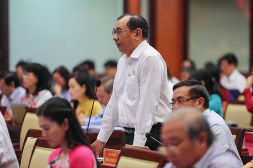 Đại biểu HĐND TP HCM bày tỏ nhiều lo ngại - Ảnh 1.