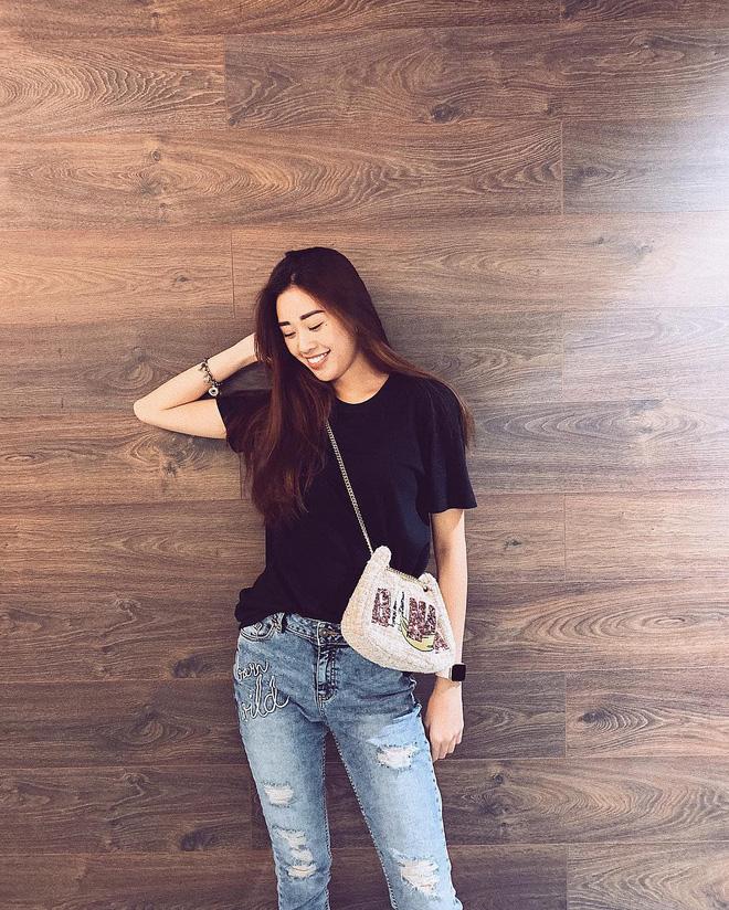 Không chỉ trên sân khấu, Nguyễn Trần Khánh Vân vẫn rất xinh đẹp ngoài đời  - Ảnh 12.